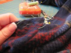 Several years ago I saw a sewing tip in Threads magazine. It was for making nice, clean corners and hems on napkins. I adapted this techniqu...