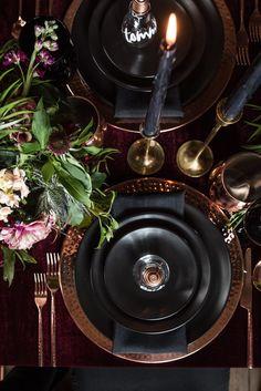 Moody Vintage Industrial Wedding Inspiration - WeddingLovely Blog