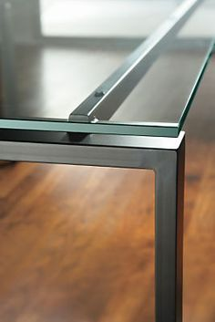 Rand Console Table In Natural Steel
