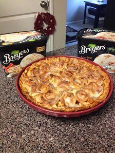 Cinnamon Bun Apple Pie Recipe