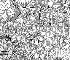 21 Abstract Pattern Coloring Pages Free Instant Download