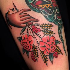 """austinmaples:""""THANK YOU JESS ! Always a pleasure to tattoo you ! Done at…"""