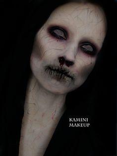 maquillaje de fantasmas caracterizacion - Buscar con Google
