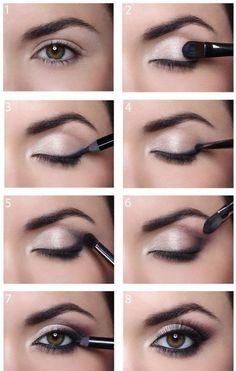 Radiant eye make-up - Beauty + Make Up - . - Radiant eye make-up – Beauty + Make Up – make up - Eye Makeup Tips, Makeup Hacks, Makeup Inspo, Makeup Inspiration, Makeup Ideas, Makeup Eyeshadow, Eyeshadows, Makeup Trends, Easy Eye Makeup