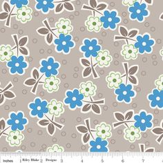 Bee in My Bonnet - Millies Closet - Floral in Blue