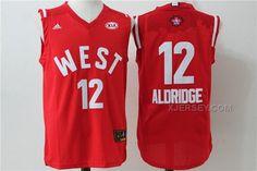 http://www.xjersey.com/spurs-12-lamarcus-aldridge-red-2016-nba-all-star-west-jersey.html Only$36.00 #SPURS 12 LAMARCUS ALDRIDGE RED #2016 #NBA ALL STAR WEST JERSEY #Free #Shipping!