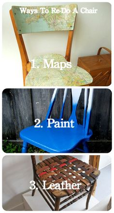 These are cool ideas, especially turning chairs into a bench: 25 Ways to Reinvent a Chair