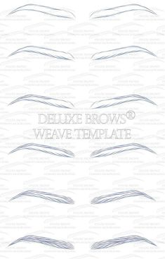 Image result for microblading template