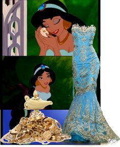 """Princess Jasmine Inspired Outfit."" by mrsprincetonperez ❤ liked on Polyvore"