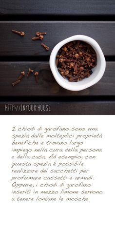 Usi alternativi delle #spezie. #chiodi di #garofano #cucina #rimedinaturali #casa #aromi #ricette