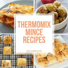 We have put together a collection of our favourite Thermomix Mince Recipes that you can turn to when your looking for some inspiration. Thermomix Recipes Healthy, Gourmet Recipes, Cooking Recipes, Healthy Mince Recipes, Beef Mince Recipes, Savoury Recipes, Healthy Food, Cantaloupe Recipes, Radish Recipes