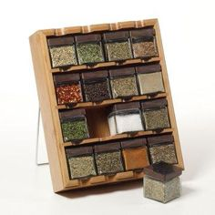 Bamboo Inspirations Spice Rack.