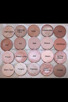 Best Neutral Palette Ever- all MAC eyeshadows