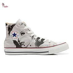 Converse Customized Adulte - chaussures coutume (produit artisanal) Red Paisley size 34 EU 89qSIt9pP