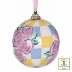 Vintage style baubles for an alternative Christmas tree decoration only £3.99 at www.thingsvintage.com