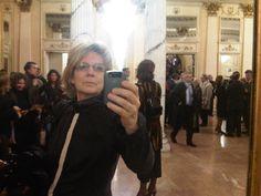 Carey taking a Selfie in Edinburgh.