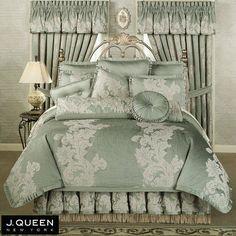 Anastasia Queen Comforter Bedding by J Queen New York