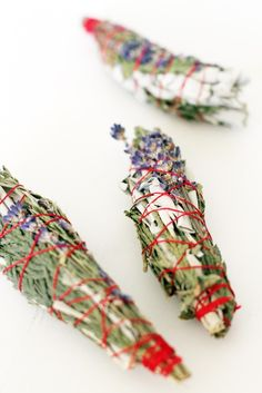Blessed Cedar Sage and Lavender Smudge Sticks