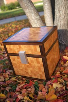 Last week George and I finished up the Minecraft chest. For a project that we stretched out over 7 months, a 10-year old boy was surprisi...