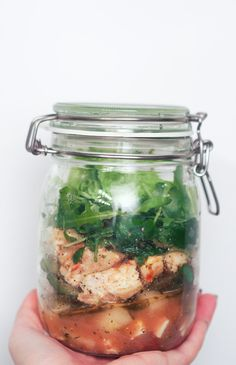 Salad in a Jar - Elämäni Kunnossa   Lily.fi