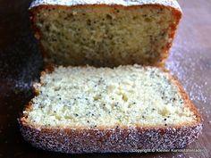 Lemon Cake with Poppyseed Banana Bread, Bakery, Brunch, Lemon, Pasta, Sweets, Cooking, Desserts, Food