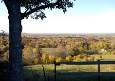 Signal Oak Overlook, Douglas County, Eastern Kansas (quite a different landscape than Western Kansas)