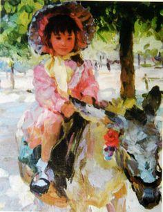 Yuri Krotov, 1964 ~ Impressionist Figurative painter