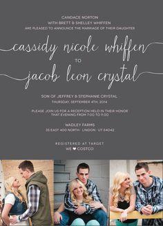 Cassidy & Jacob   The Invitation Maker