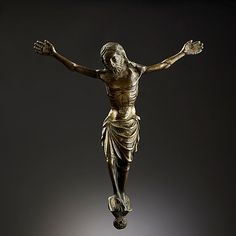 Crucifix, end 13th - early 14th century