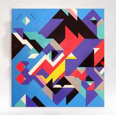 CANVASES by Sergey Sbss, via Behance