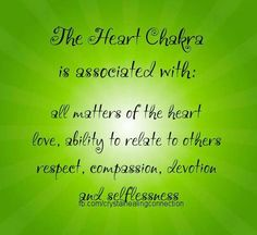 Heart Chakra Associations