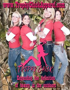 Trophy Chick Pro Staff- Lindsey Marrow, Dannielle Ollar, Amy Honeycutt, & Mary Roberts