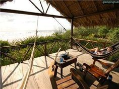Eco Surf lodge Managua | Beach cabañas bungalows Nicaragua | beach glamping Central America
