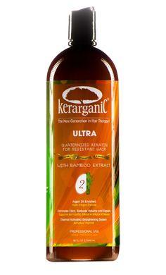 KERARGANIC - ORGANIC  ULTRA QUATERNIZED KERATIN TREATMENT KIT #Kerarganic