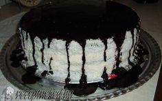 Kozák sapka torta recept fotóval
