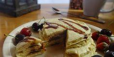 FITT Csokis amerikai pali 7-8db - NAGYON JÓ Fitt, Pancakes, Breakfast, Morning Coffee, Pancake, Morning Breakfast, Crepes