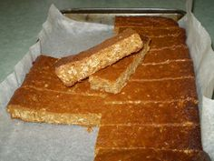 Anzac Bars - A yummy, chewy slice that is quick and easy to make. My kids love it in their lunch boxes.