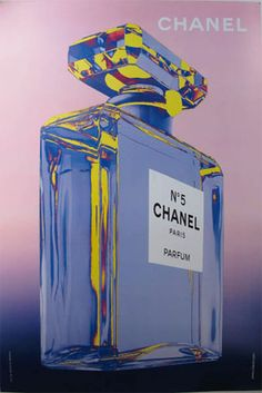 Vintage Chanel poster circa 1980