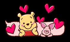 Pooh and Piglet Pooh Bear, Tigger, Eeyore, Mickey Mouse Wallpaper, Cute Disney Wallpaper, Arte Disney, Disney Fun, Cartoon Gifs, Cute Cartoon