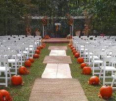 Pasillos Diferentes para la Ceremonia