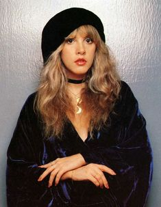 ImageFind images and videos about stevie nicks and fleetwood mac on We Heart It - the app to get lost in what you love. Moda Fashion, 70s Fashion, French Fashion, Korean Fashion, Winter Fashion, Women's Dresses, Elizabeth Woolridge Grant, Stevie Nicks Fleetwood Mac, Stevie Nicks Witch