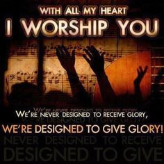 If Jesus lives in your heart, you can't help to sing His praises. He is good all the time!