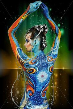 power My World, Body Art, Disney Characters, Fictional Characters, My Arts, Disney Princess, Design, Body Jewelry