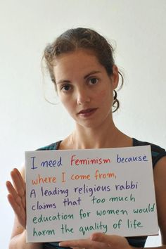 because once a woman is educated enough to understand that her rights are being stolen for the sole reason of *gasp* having a vagina (!!!) and she speaks out against it, the quality of life is lessened? haha fUNNY JOKES