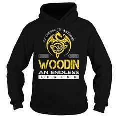 Cool WOODIN An Endless Legend (Dragon) - Last Name, Surname T-Shirt T shirts