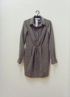 Kup mój przedmiot na #vintedpl http://www.vinted.pl/damska-odziez/krotkie-sukienki/18874955-wymiana-200-zl-nowa-metka-sukienka-sugarfree-koszulowa-khaki-34-xs