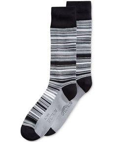 Alfani Men's Variegated Stripe Socks, Only at Macy's - Underwear - Men - Macy's