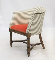 Available upholstered in any fabric or leather of your choice! Traditional Chairs, Traditional Furniture, Tub Chair, Lounge, Fabric, Leather, Home Decor, Airport Lounge, Tejido
