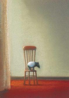 ♞ Artful Animals ♞ bird, dog, cat, fish, bunny and animal paintings - Chiho Makino