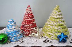 crochet tree how-to- cute idea!
